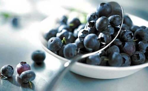 Blåbær brukes som naturlige remedier.