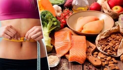 Den ketogene dietten er rik på fet fisk.