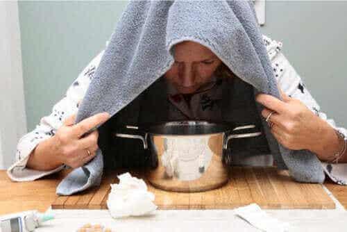 Eterisk olje fra oregano for å lindre forkjølelse