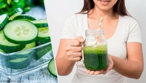 9 fordeler med agurkjuice