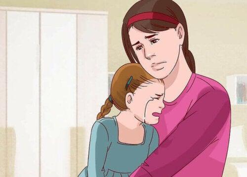 En trist mor og datter