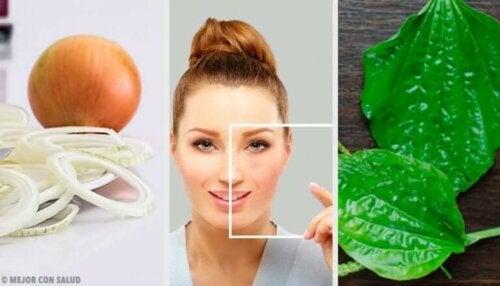 Bli kvitt flekker i ansiktet med naturlige ingredienser