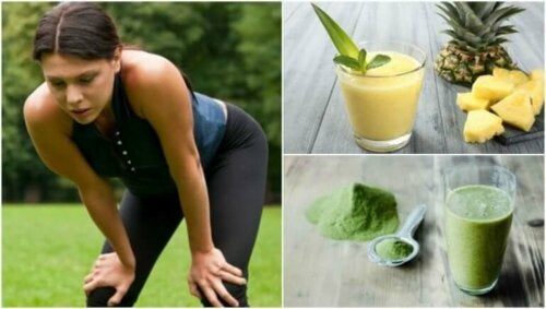 Fem smoothies for å overvinne muskeltretthet