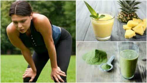 Fem smoothies for å overvinne muskeltretthet