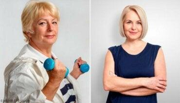 Fem triks for å være lykkelig og sunn i overgangsalderen