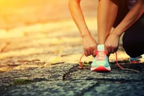 Lag en daglig treningsrutine og ikke hopp over den
