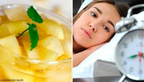 Seks sunne typer kveldsmat for å overvinne søvnløshet naturlig