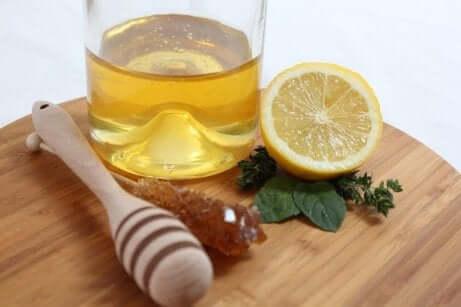 Sitron og honning