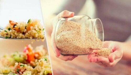 Syv grunner til at du bør spise quinoa