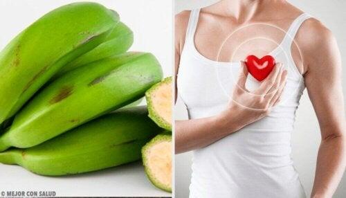 6 fordeler med grønne bananer du sannsynligvis ikke visste om