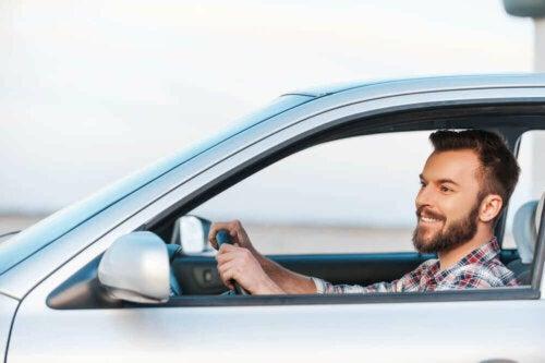God ventilasjon når du kjører.