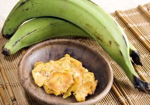 Grønne bananer
