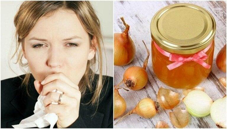 Honning og løk: Tilberedning for å berolige hoste