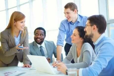 kollegaer på et møte