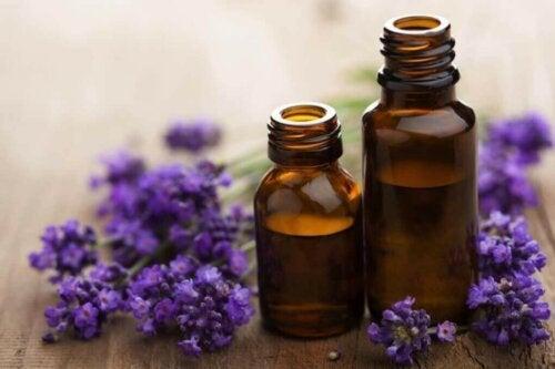 Lavendel essensiell olje.