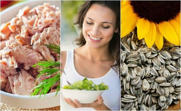 6 matvarer som vil hjelpe deg med å øke serotoninnivået