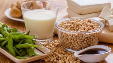 Soya er en plantebasert mat rik på kalsium