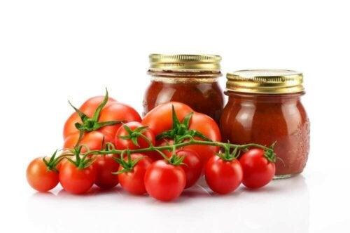 Tomater på flaske