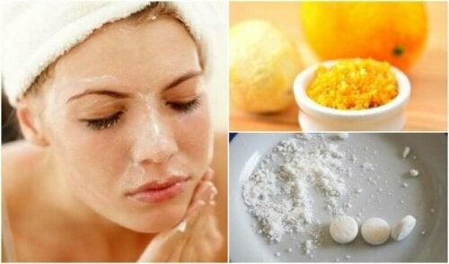 Åtte raske behandlinger for å fjerne hudormer fra ansiktet ditt