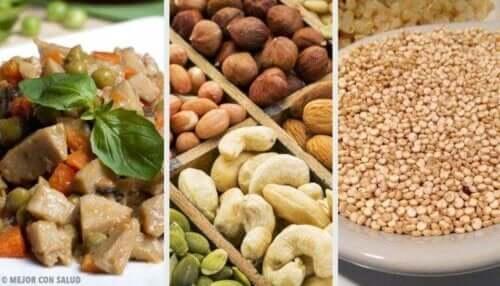 Alternativer for å erstatte animalsk protein i kostholdet ditt