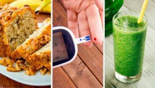 Fire oppskrifter som passer for diabetikere