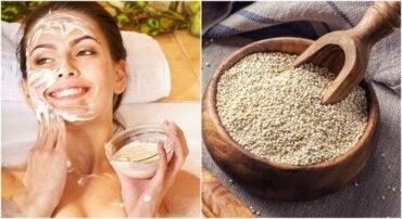 Hvorfor du bør vaske ansiktet ditt med quinoa