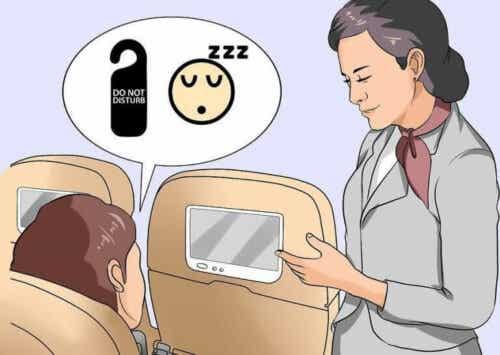 Ni triks for de som ikke klarer å sove på fly