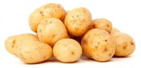 Rå poteter mot betennelse