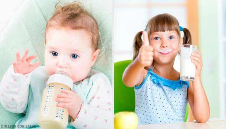 Hva er den sunneste typen melk for barn?