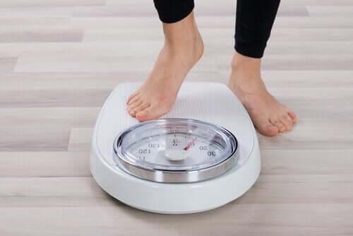 Gå ned i vekt etter ferien