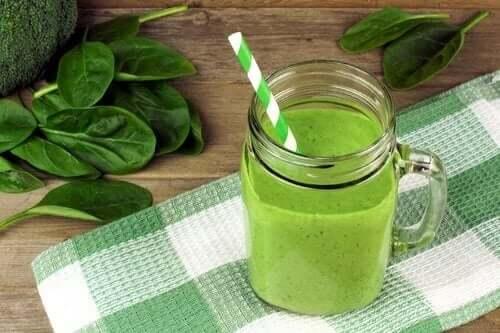 Grønn smoothie.
