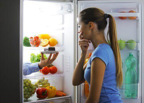 finkjemme kjøleskapet