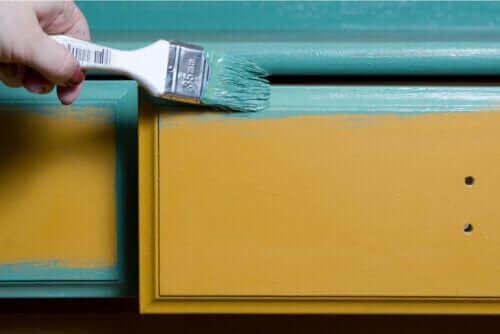 Tips om hvordan du kan male tremøbler