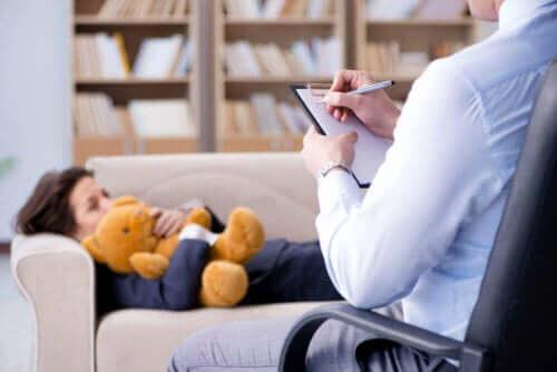 Et barn i terapi