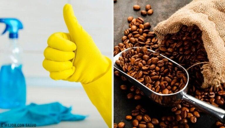 14 alternative bruksområder for kaffe hjemme