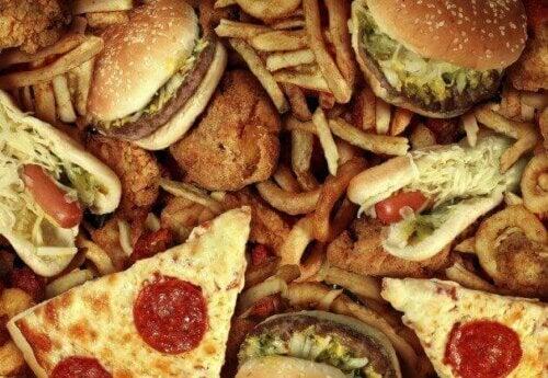 søppelmat er mat du bør holde deg langt unna