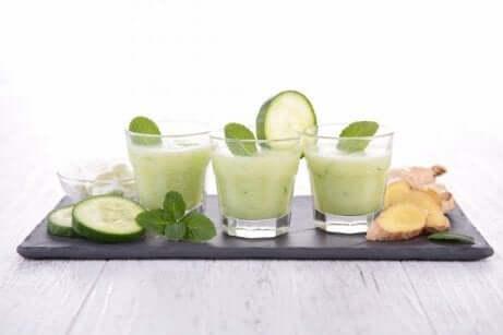 sunne og lette juicer