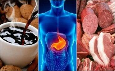 Åtte matvarer som forårsaker halsbrann