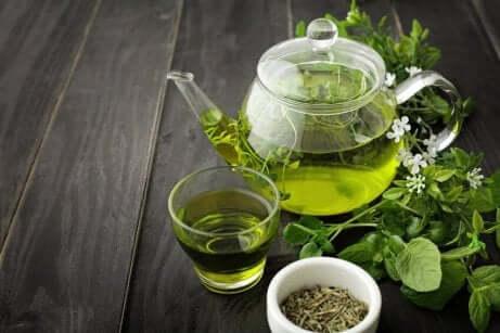Deilig grønn te