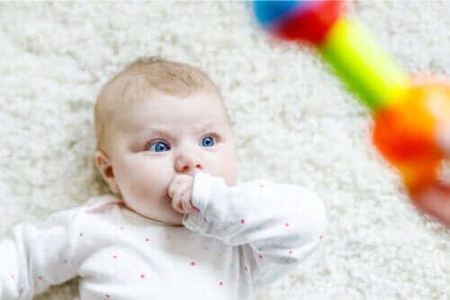 Oppdag hvorfor babyer stirrer