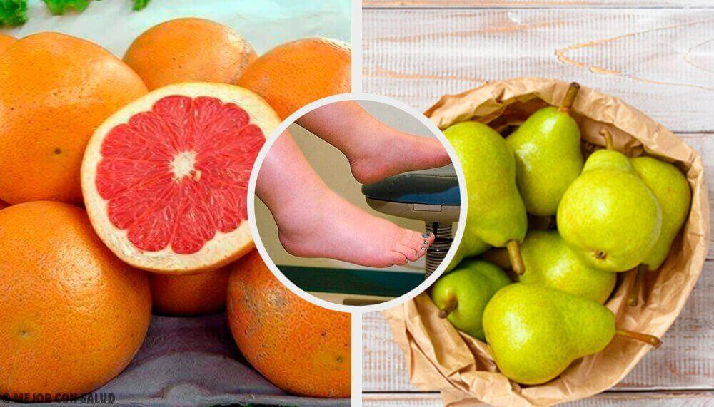 De 10 beste fruktene for å bekjempe vann i kroppen