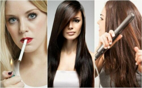 8 dårlige vaner som påvirker helsen til håret