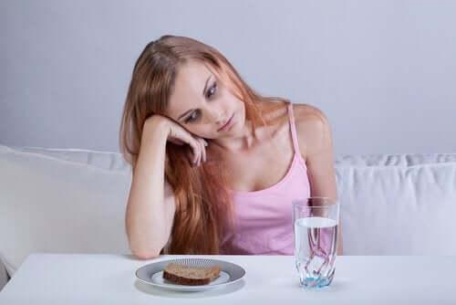 jente som ikke vil spise