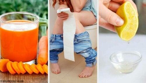De beste måtene å behandle diaré på