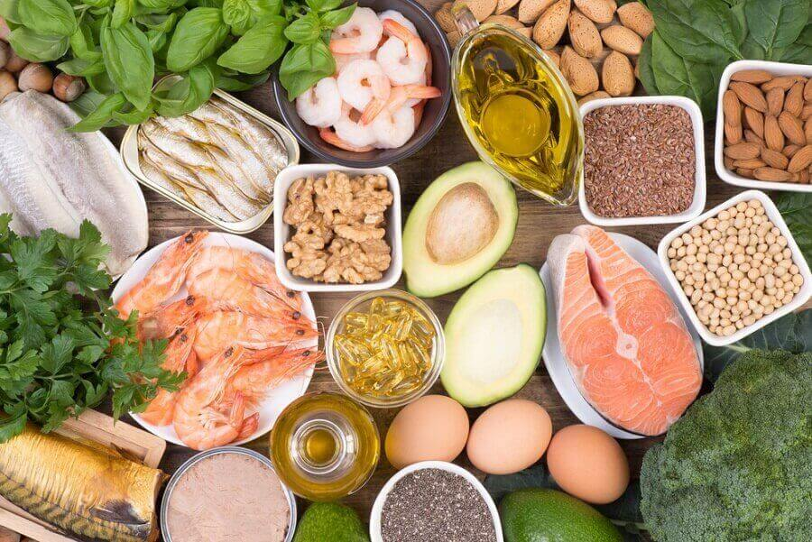 Mat rik på omega-3 fettsyrer