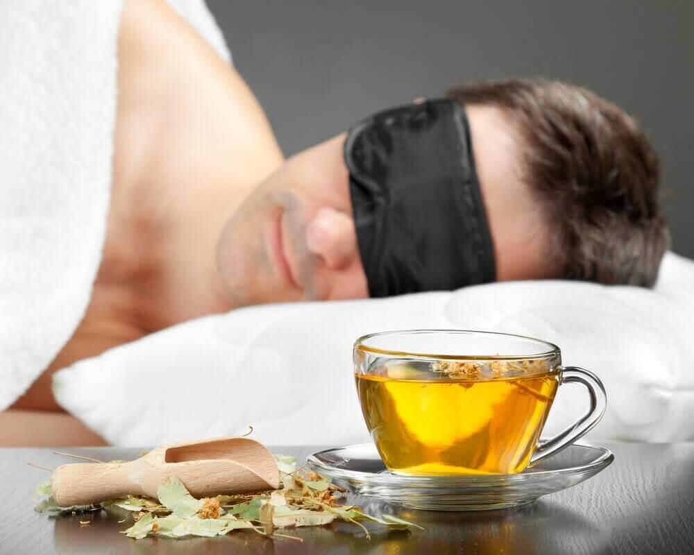 Te som forbedrer søvnen