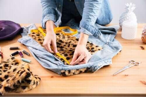 Fem tips for å hjelpe deg med å redesigne klærne dine