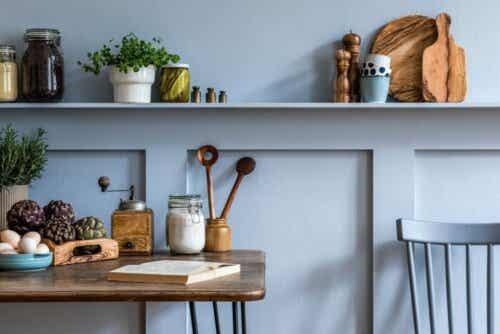 Et rustikt kjøkken