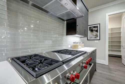 Et moderne kjøkken