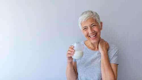 Les om kostholdet som anbefales i overgangsalderen